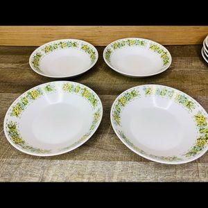 Set of 4 Salad/Soup bowls Noritake Springfield